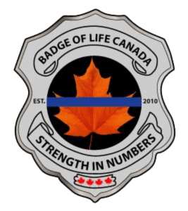 Badge of life canada logo and link to website