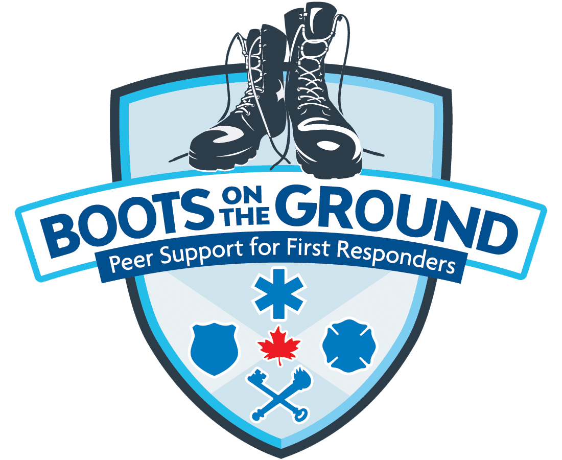 Boots on the ground logo and link to website
