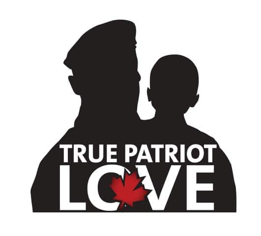 True Patriot Love logo and link to website