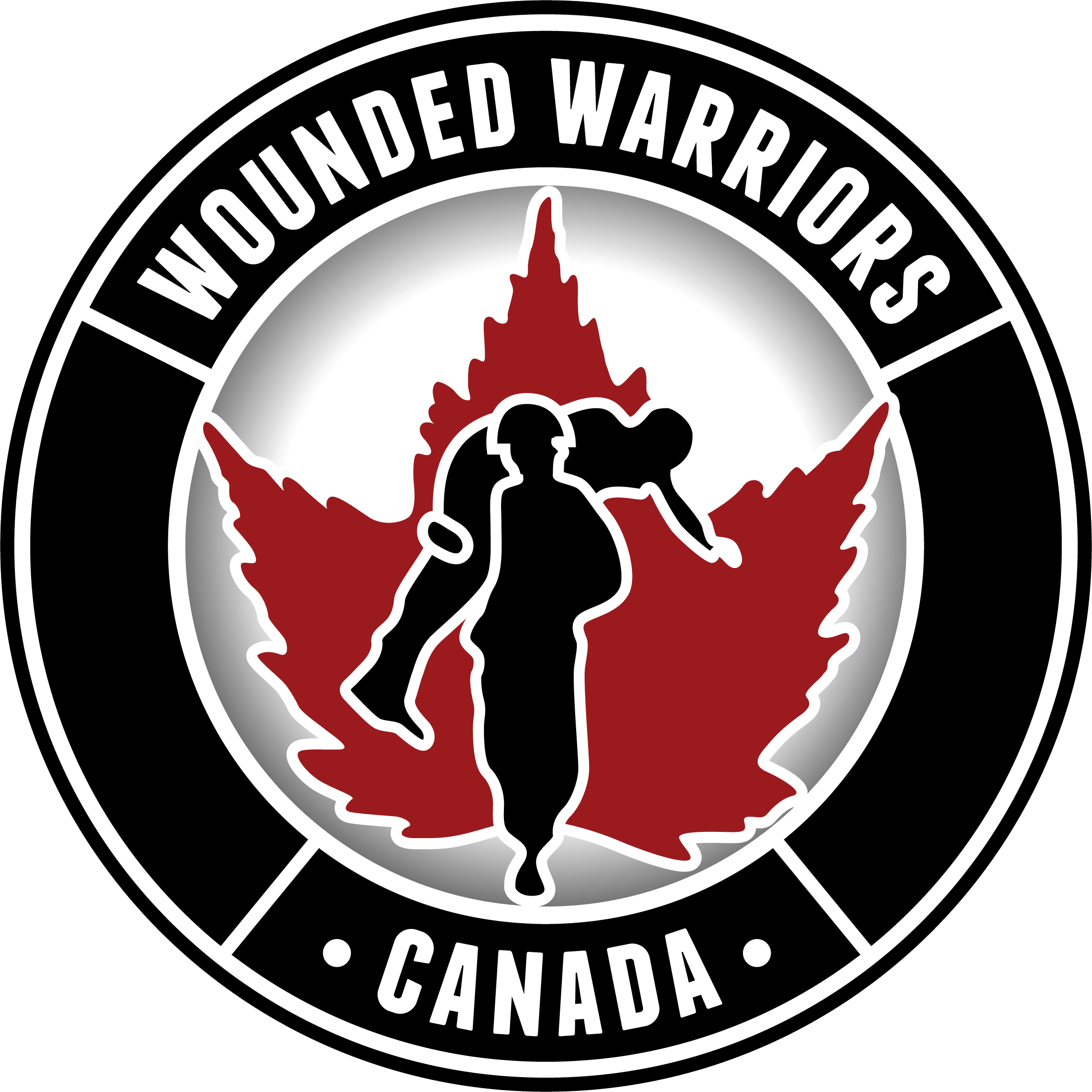 Wounded warriors logo and link to website